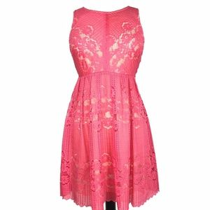 NWT Free People Rocco Cut Out Lace Dress Keyhole